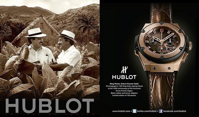 "Hublot King Power ""Arturo Fuente"" Watch"