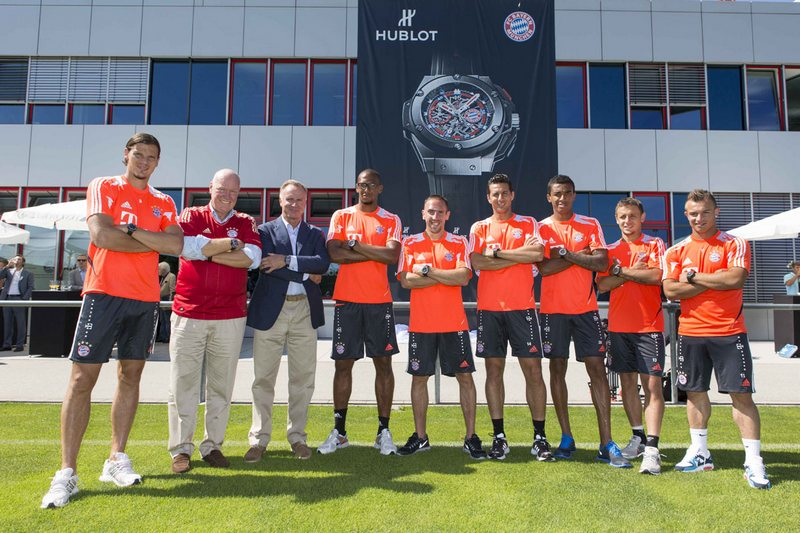 Hublot King Power FC Bayern München