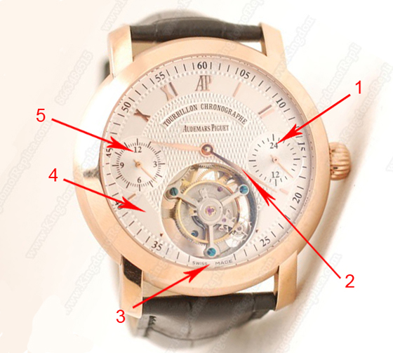 Audemars Piguet Jules Audemars Tourbillon Chronograph Replica