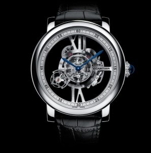 Volley rotating Cartier Replica Watches Objects running type