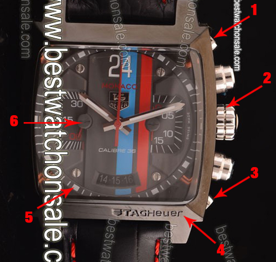 Meet the Swiss Made Tag Heuer Monaco Calibre 24 Chronogrpah Replica Watch