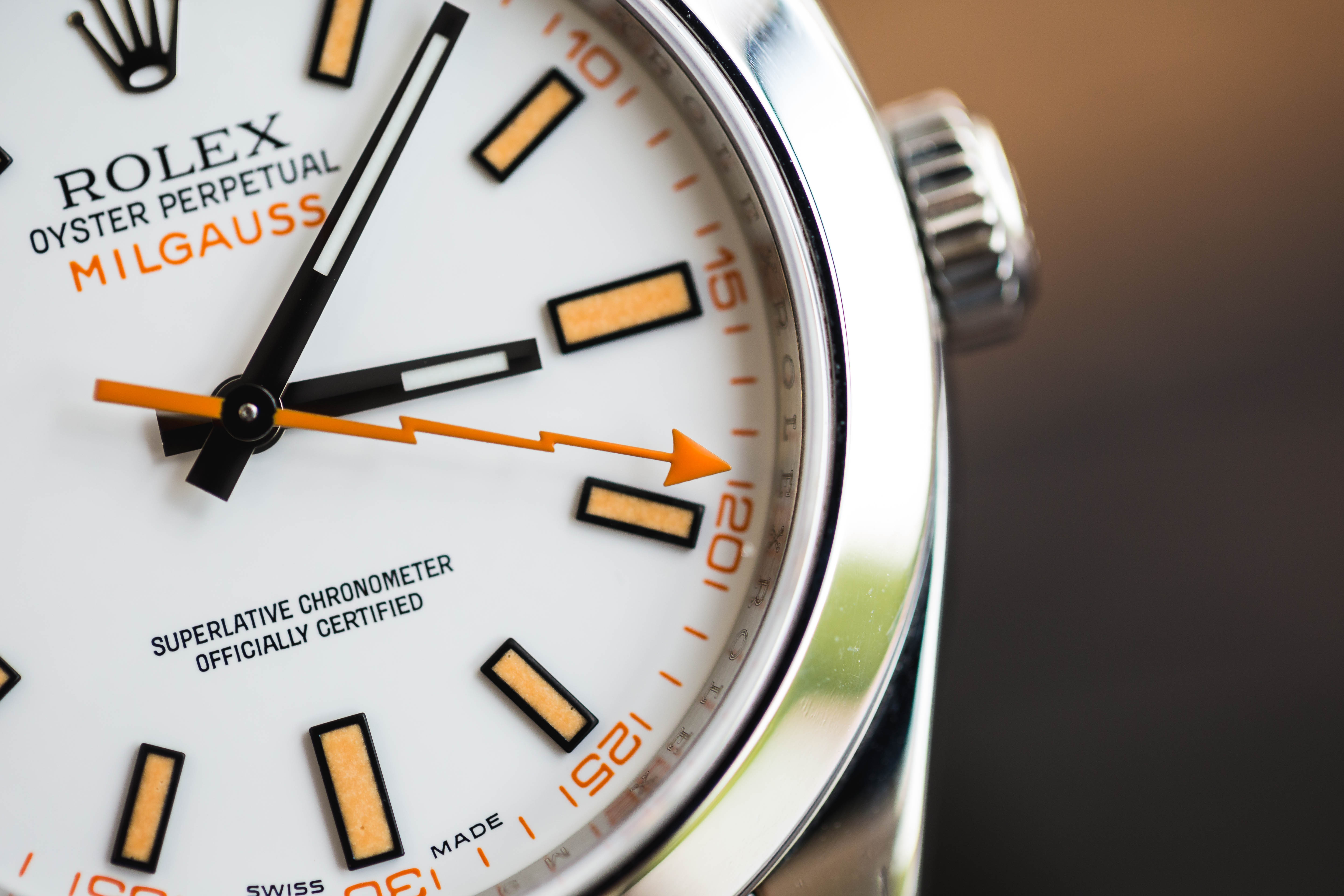 Up Close With The Luxury Rolex Milgauss Replica Watch