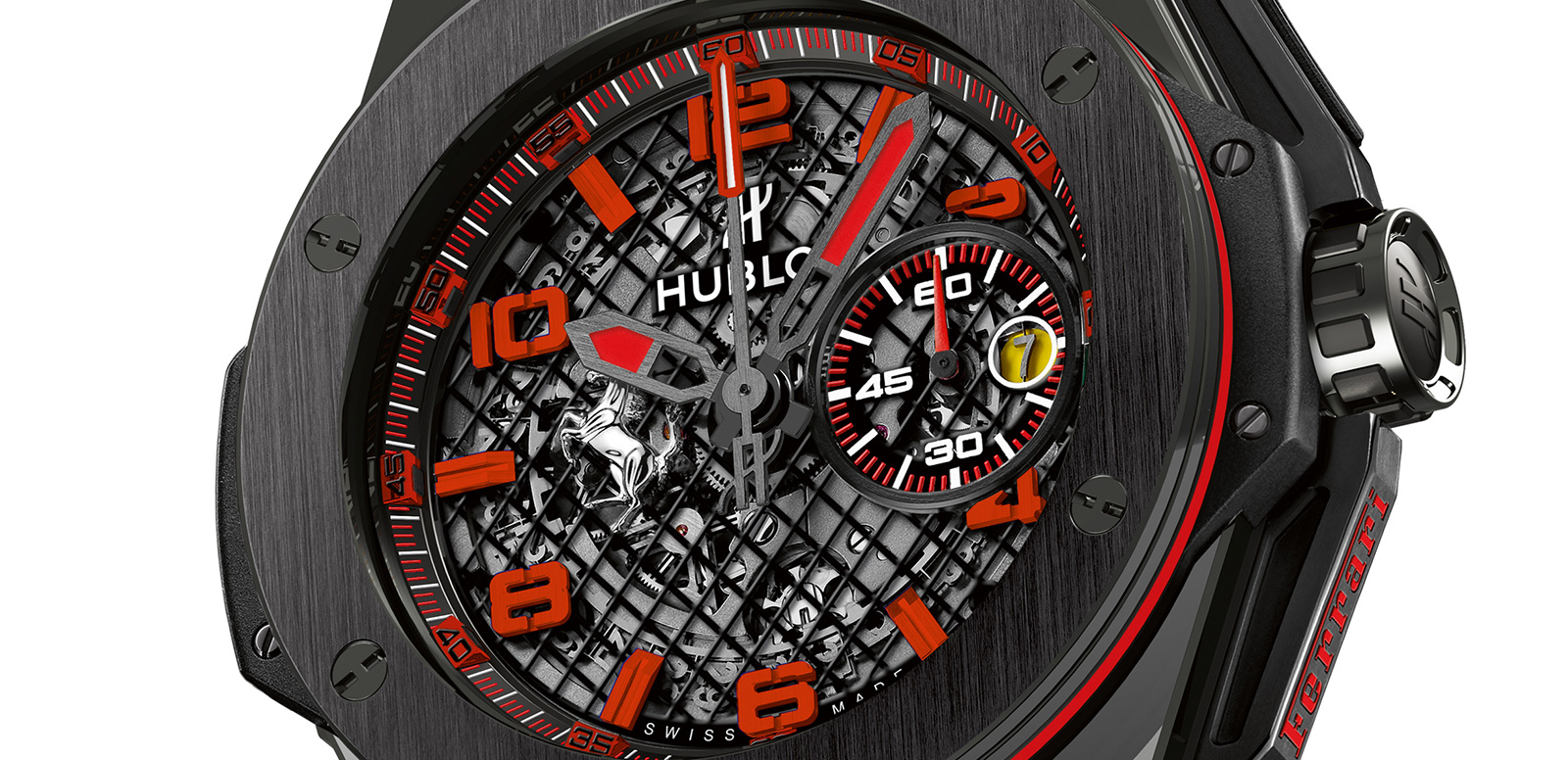 Introducing The Best Quality Skeleton Hublot Big Bang Ferrari Ceramic Replica Watch