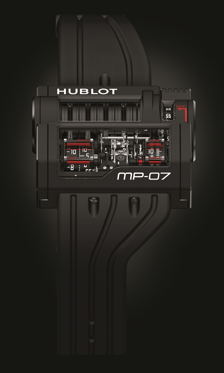 The Mens Awesome Hublot MP-07 Replica Watch Is 42 Days Of Futuristic Power
