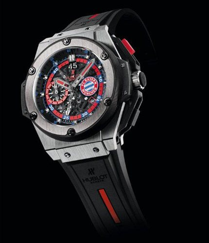 Presenting The Amazing Fake Hublot King Power FC Bayern München Watch for Men