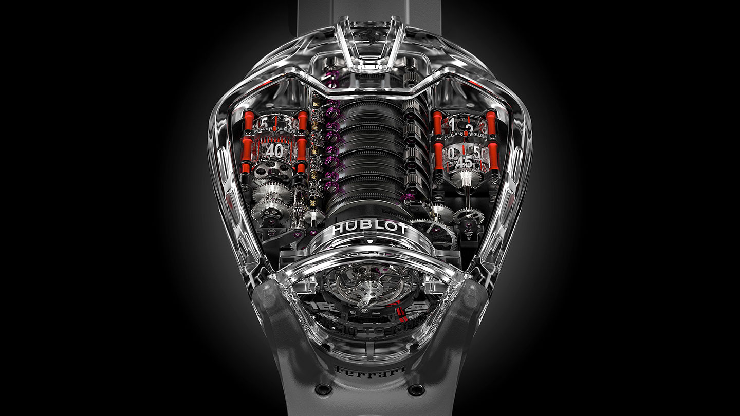hublot mp05 laferrari sapphire replica watch handson