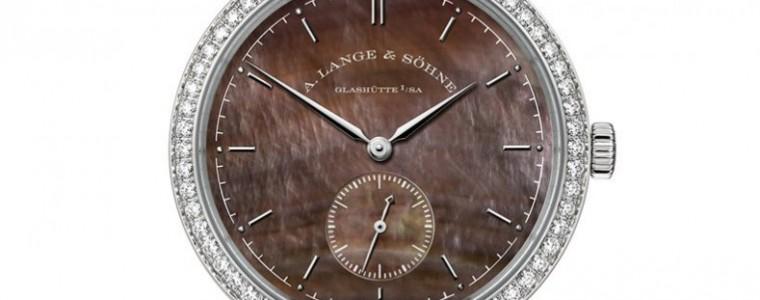 New 878.038 A. Lange & Söhne Saxonia Brown Dial Watch combine horological precision ane superb artisanship