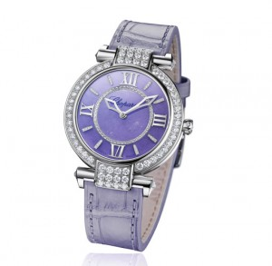 You Will Love The 36mm Replica Ladies' Chopard Imperiale Lavender Jade Mechanical Watch REF. 384242-1010