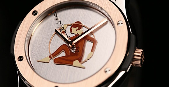 Reviewing The Rose Gold Fake Hublot Classic Fusion Jaques-Dalcroze Special Edition