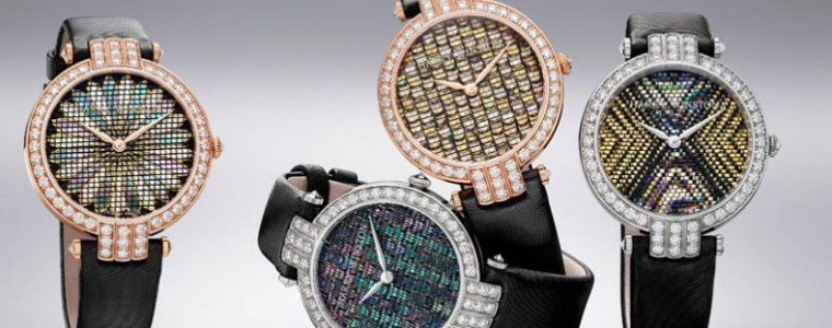 Hands-on Harry Winston Premier Precious Weaving Dial Automatic Womens Watch