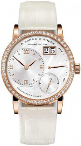 A. Lange & Söhne kleine Lange 1 Soirée Ladies' Fake Watch with brilliant-cut diamonds and mother-of-pearl