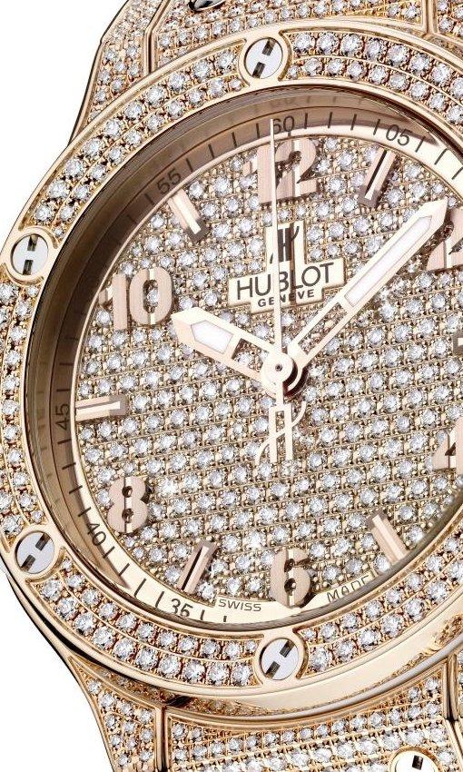 Hublot Big Bang Gold Full Pave-Set