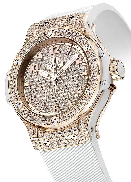 Hublot Big Bang Gold Full Pave-Set watch replica
