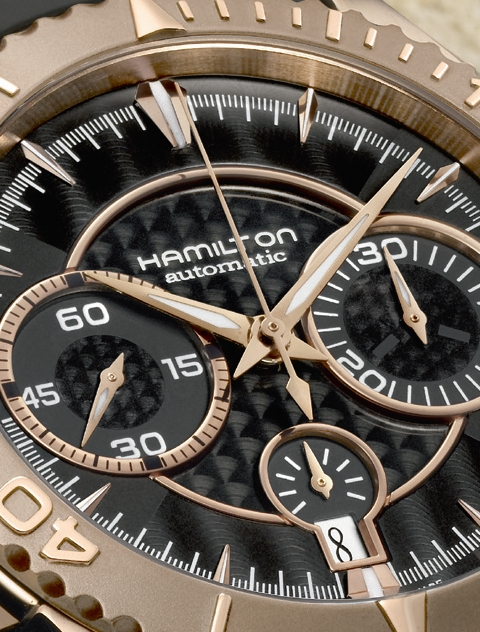 Hamilton Seaview AutoChrono Automatic Diving watch replica
