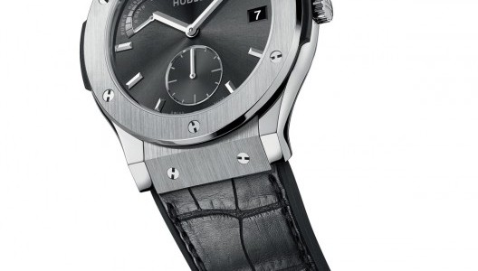 The Titanium Hublot Classic Fusion Power Reserve 8 days Replica Watch for Men