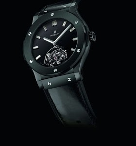 Best Swiss Ceramic Hublot Classic Fusion Tourbillon Night-Out Copy Timepiece