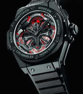 The Cool Hublot King Power Unico GMT Ceramic Copy Watch In Cheap Price