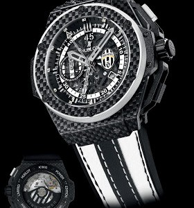 Best Swiss Carbon Fiber Hublot King Power Juventus Replica Watch For Sale