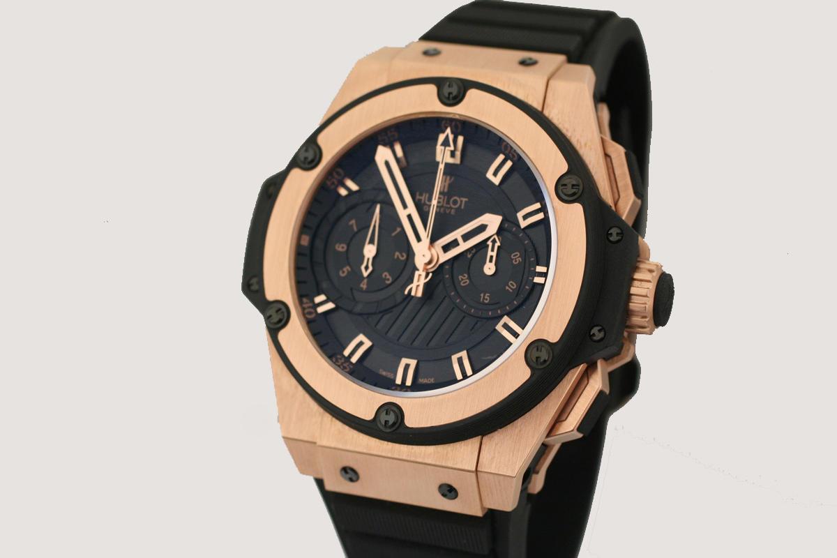 Hublot Gold King Power Watch replica
