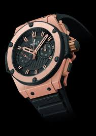 Hublot King Power Gold Watch replica