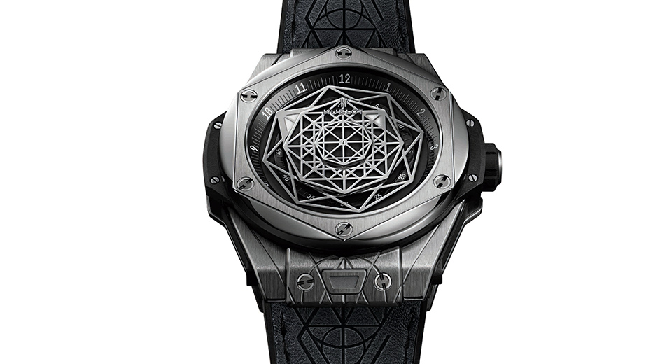 titanium fake Hublot Big Bang Sang Bleu replica