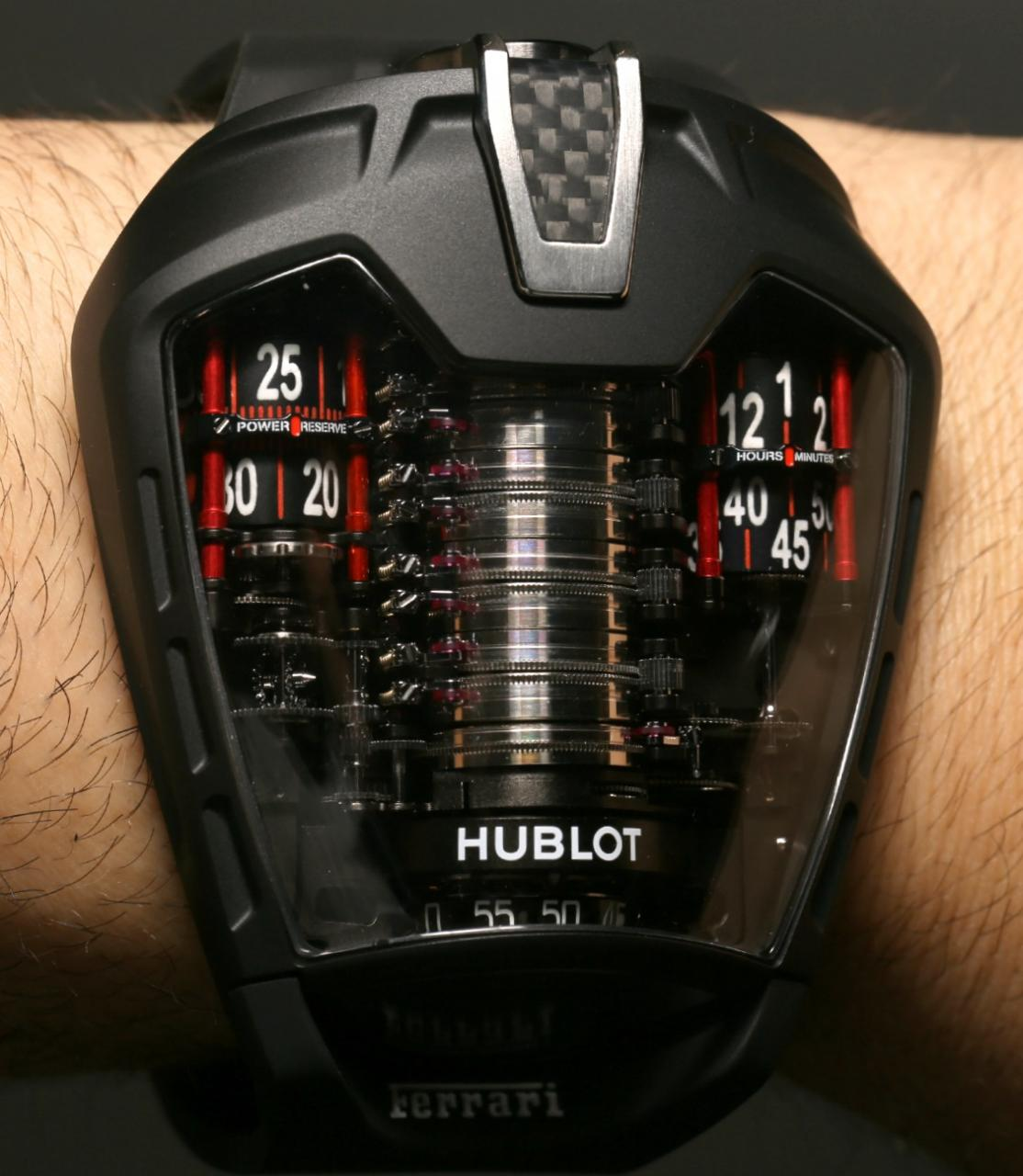 "Hublot Masterpiece MP-05 ""LaFerrari"" copy watches"