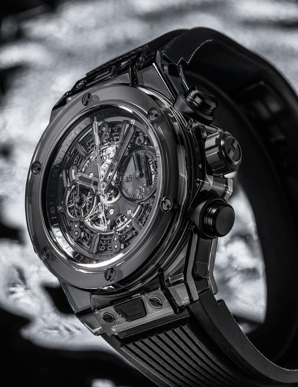 Hublot Big Bang Unico Sapphire All Black replica