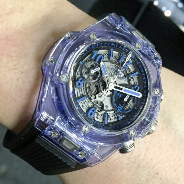 Hublot Big Bang Unico Sapphire Blue copy watches
