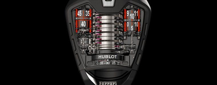 "Black PVD Titanium Hublot Masterpiece MP-05 ""LaFerrari"" Replica Wristwatches For Men"
