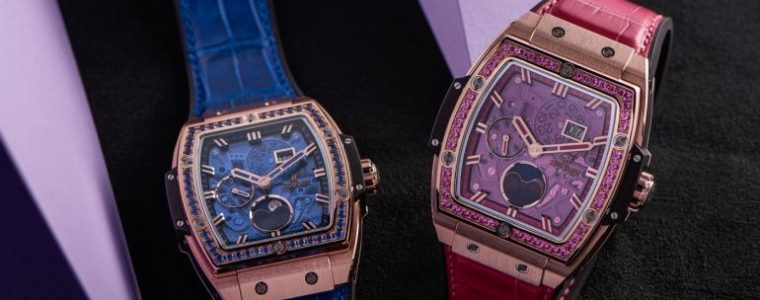 Four Gorgeous Hublot Spirit Of Big Bang Moonphase Watch Replica For Men