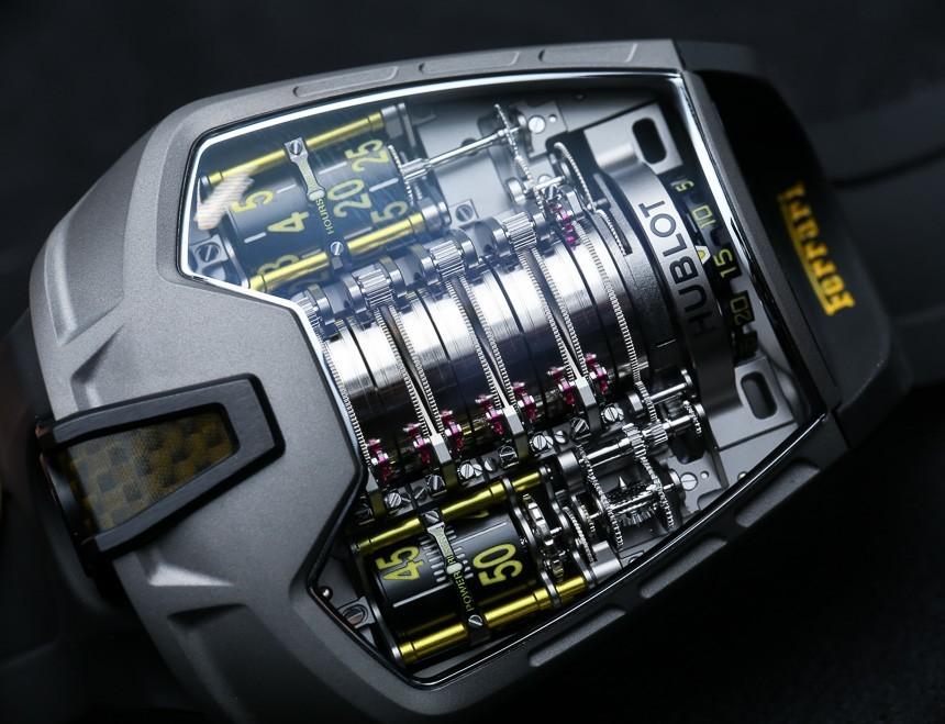 Hublot MP-05 LaFerrari Ferrari Titanium Yellow Watch Hands-On Hands-On