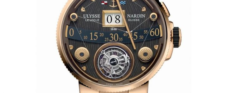 Can I Buy Ulysse Nardin – Marine Grand Deck Tourbillon in rose gold Replica Watches Online Shopping