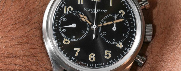 Montblanc 1858 Automatic Chronograph Hands-On Perfect Clone Online Shopping