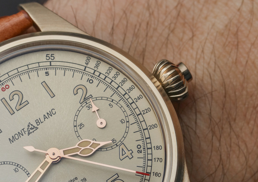 Montblanc 1858 Chronograph Tachymeter Bronze Watch Hands-On Hands-On