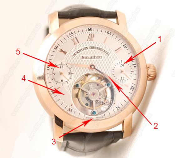 Audemars Piguet Jules Audemars Tourbillon Chronograph Replica