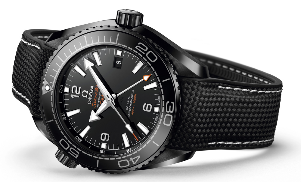 Introducing The New Sporty Omega Seamaster Planet Ocean GMT Deep Black Replica Watches