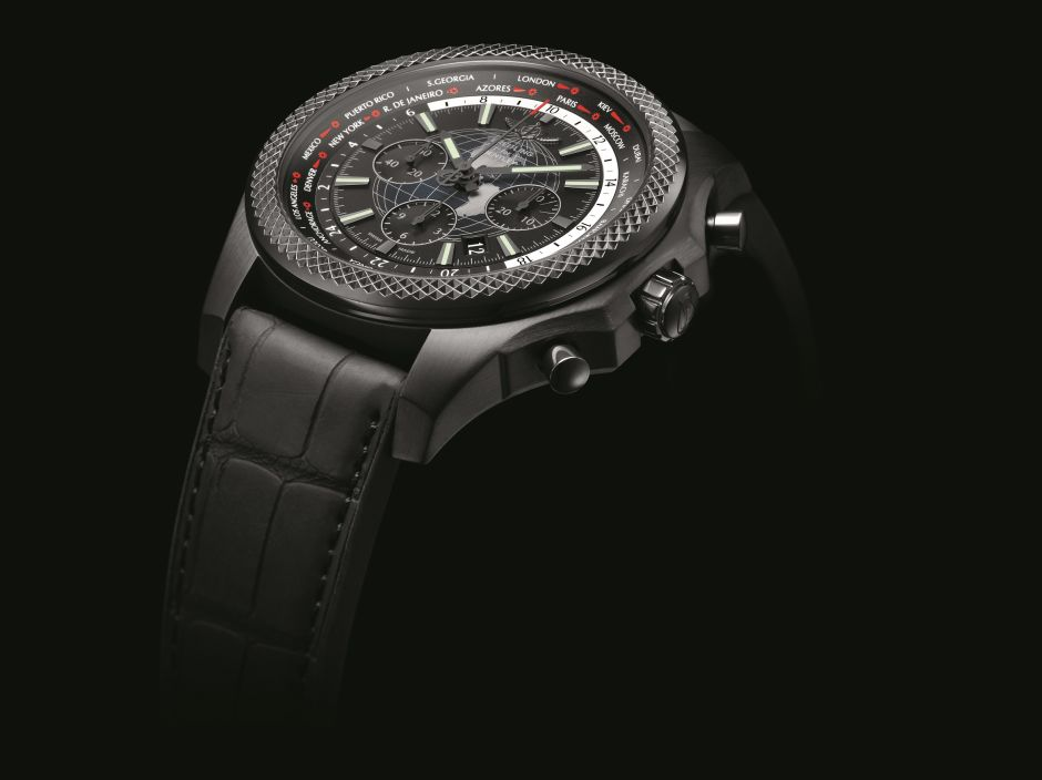 Closer Look At The Impressive Breitling for Bentley B05 Unitime Midnight Carbon Replica Watch