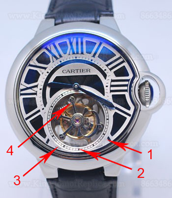 Introducing The Cartier Ballon Bleu de Cartier Tourbillon XL Replica Watch For Men