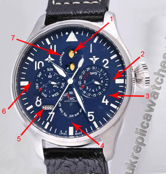 The Perfect Awesome IWC Big Pilot's Perpetual Calendar Top Gun Replica Watch Ref.iw502902