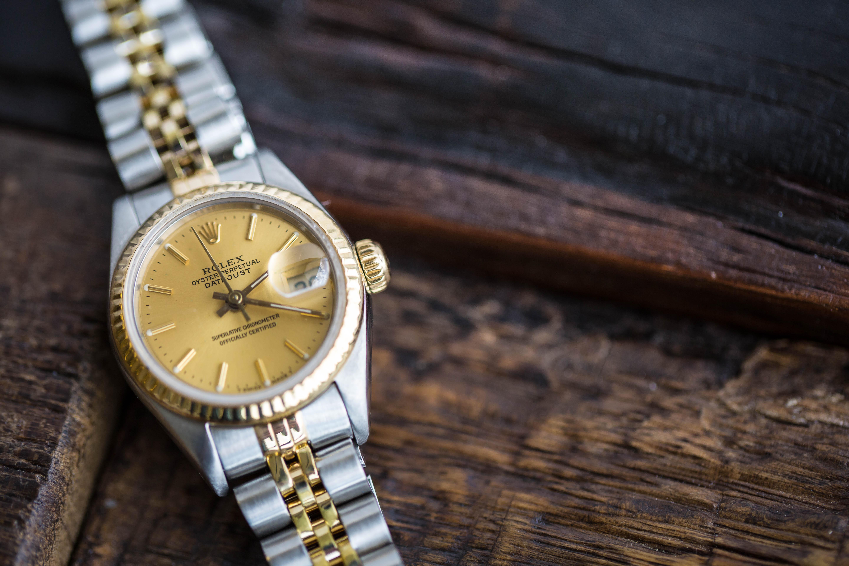 Hands-on Ladies' Rolex Datejust Copy Watch