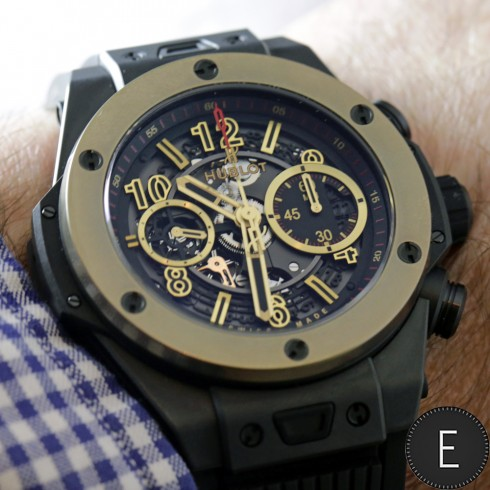 Hands-on With My Ceramic Hublot Big Bang Unico Magic Gold Replica Watch