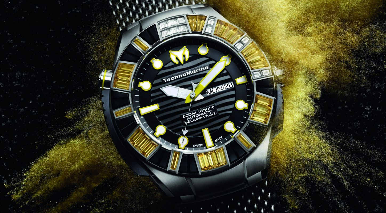 The Swiss Made Technomarine BlackReef Ti Ultimate Automatic Watch Replica
