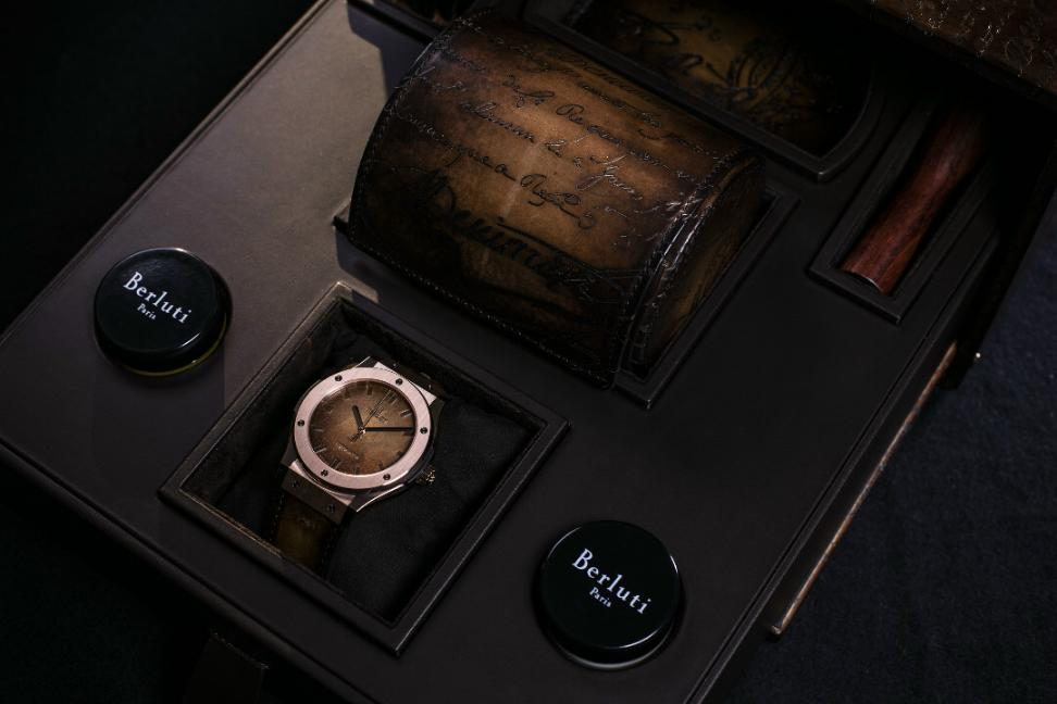 Closer Look At The 18K Rose Gold Hublot Classic Fusion Watch Copy