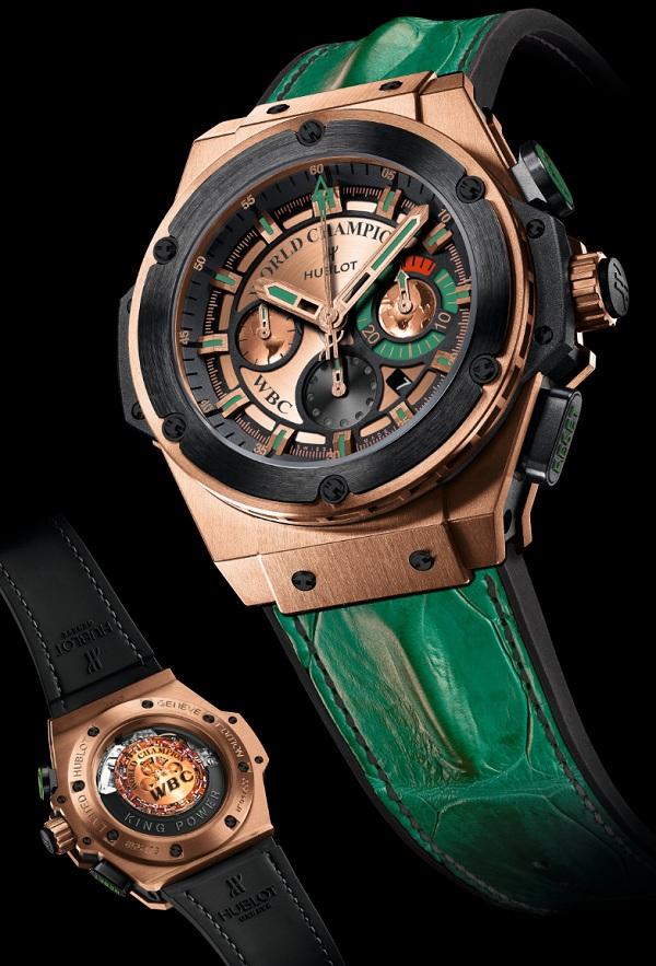 The Luxury And Elegant Hublot King Power WBC Replica Watches