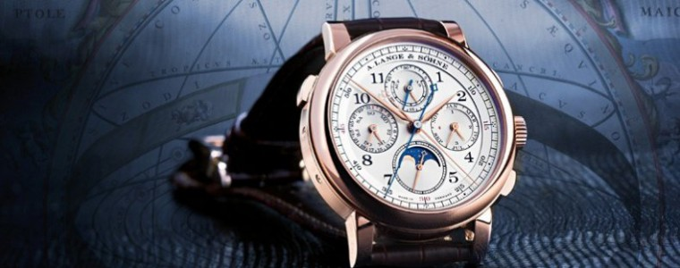 Hand-on The Complication A. Lange & Söhne GRAND LANGE 1 Moon Phase Rose Gold Watch