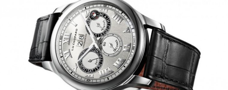 Clock Look at The Excellence Chopard  L.U.C Perpetual Twin Mechanical Replica Watch Ref.168561-3001