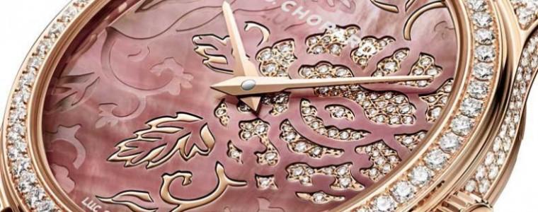 35MM Replica Ladies' Chopard  L.U.C XP Esprit de Fleurier Peony Watch Ref.131944-5001