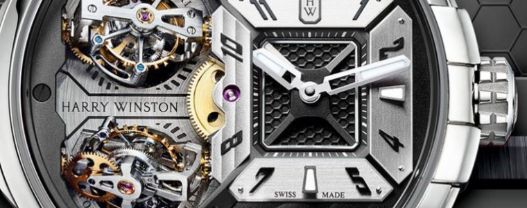 The Cool and Masculine Replica Harry Winston Histoire de Tourbillon 7 Power Reserve Limited Edition Watch