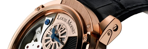 Introducing The Rose Gold Louis Moinet Tempograph Watch For Sale