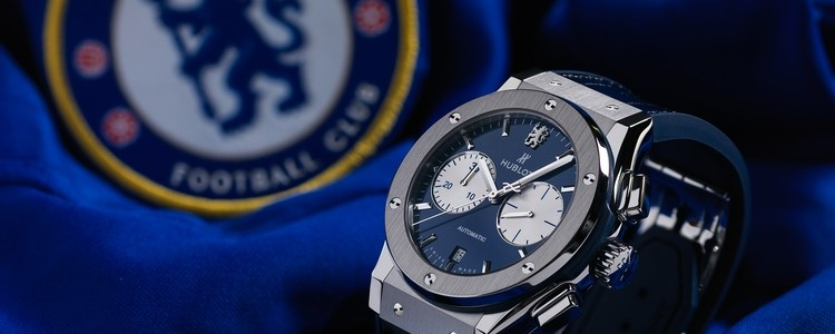 Promotion: The Masculine Hublot Classic Fusion Chronograph Blue Dial Watch Replica